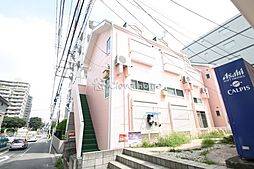 神奈川県大和市中央林間4の賃貸アパートの外観