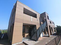 千葉県富里市大和の賃貸マンションの外観