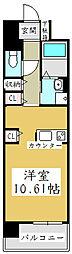 オーベルコート[1階]の間取り