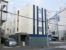 北海道札幌市東区北十七条東2丁目の賃貸マンションの外観