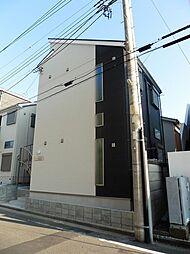 神奈川県横浜市鶴見区汐入町2の賃貸アパートの外観