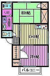 ウェストパレス I[1階]の間取り