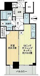 大阪ひびきの街 ザ・サンクタスタワー[11階]の間取り