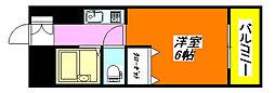 イースト・コトブキ 701号室[7階]の間取り