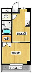 第三藤ビル[4階]の間取り