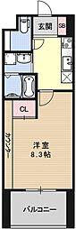 プラネシア京阪出町柳[406号室号室]の間取り