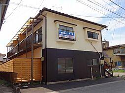 長野県諏訪市清水1丁目の賃貸アパートの外観
