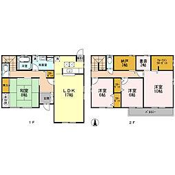 [一戸建] 鳥取県米子市新開6丁目 の賃貸【/】の間取り