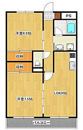 清和マンション[3階]の間取り