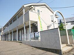 埼玉県越谷市西方1丁目の賃貸アパートの外観