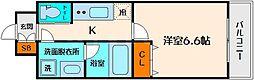 アリビオ江坂垂水町[2階]の間取り