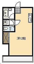 アメニティハウス[208号室]の間取り