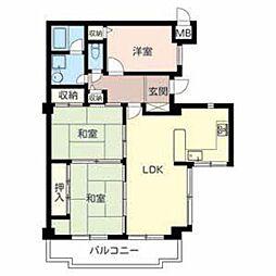 グランドメゾン姫路[3階]の間取り