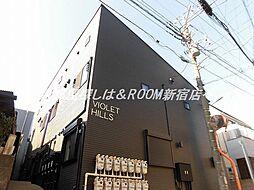 東京都西東京市柳沢6丁目の賃貸アパートの外観