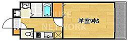 ラフィーネ西沢[107号室号室]の間取り