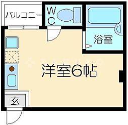 レバンガAP新大阪ステーションフロント[4階]の間取り