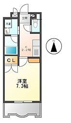 セレス大須[4階]の間取り