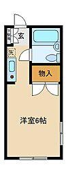 SKシティハイツI[2階]の間取り