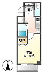 プレサンス覚王山D−StyleII[2階]の間取り