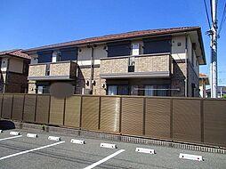 千葉県木更津市ほたる野3丁目の賃貸アパートの外観