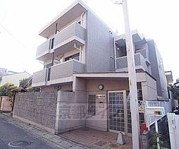 京都府京都市山科区厨子奥尾上町の賃貸マンションの外観