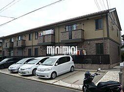 愛知県名古屋市中川区大塩町2丁目の賃貸アパートの外観