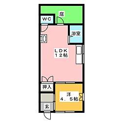 [一戸建] 愛知県名古屋市天白区野並3丁目 の賃貸【愛知県 / 名古屋市天白区】の間取り