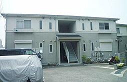 兵庫県神戸市須磨区車の賃貸アパートの外観