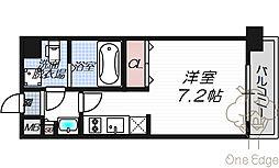 レオンコンフォート新梅田Ⅱ[10階]の間取り