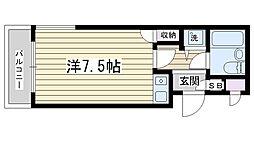 ライオンズマンション駒込第7[404号室]の間取り