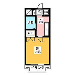 エクセレンスG II[3階]の間取り