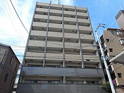 プリモディーネ福島の鉄筋コンクリート造。閑静な住宅街