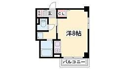 アシーナ厚見[5階]の間取り