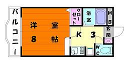 HAMAO吉村ビル[4階]の間取り