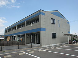 長崎県諫早市高来町溝口の賃貸アパートの外観