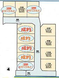 熊谷市樋春 全11区画分譲地(8区画) 江南南小学校・江南中学校