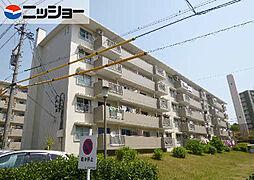 愛知県名古屋市名東区亀の井1丁目の賃貸マンションの外観