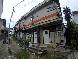 兵庫県川西市花屋敷1丁目の賃貸アパートの外観