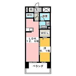 CASA94[2階]の間取り
