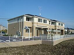 埼玉県久喜市上内の賃貸アパートの外観