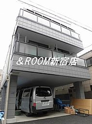 カーサ東新宿[101号室]の外観