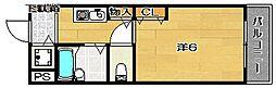 メゾン・ド・ソレイユ[103号室]の間取り