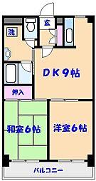 ローズマンションA-51[203号室]の間取り