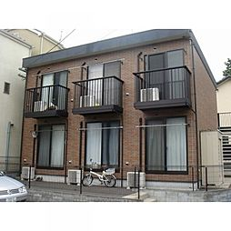 神奈川県横浜市緑区中山町の賃貸アパートの外観