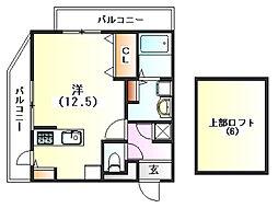アメニティI[3階]の間取り
