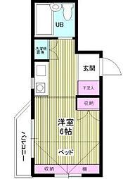 プラティーク笹塚(旧 ウィンベル笹塚第2)[3階]の間取り