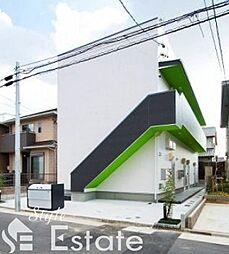愛知県名古屋市中村区烏森町4丁目の賃貸アパートの外観