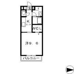 カサフロス[2階]の間取り