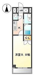 神奈川区三ッ沢上町 SEIMOPALACE I503号室[?503号室]の間取り