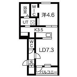JR学園都市線 あいの里教育大駅 徒歩1分の賃貸アパート